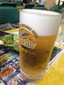 千歳工場限定ビール!地ビールのような味わいでした