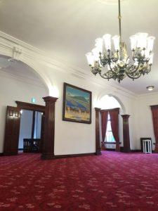 豊平館の一部屋